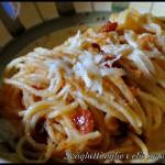 Spaghetti aglio e olio ammollicati