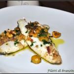 Filetti di branzino alle olive