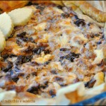 Torta rustica al radicchio e salsiccia