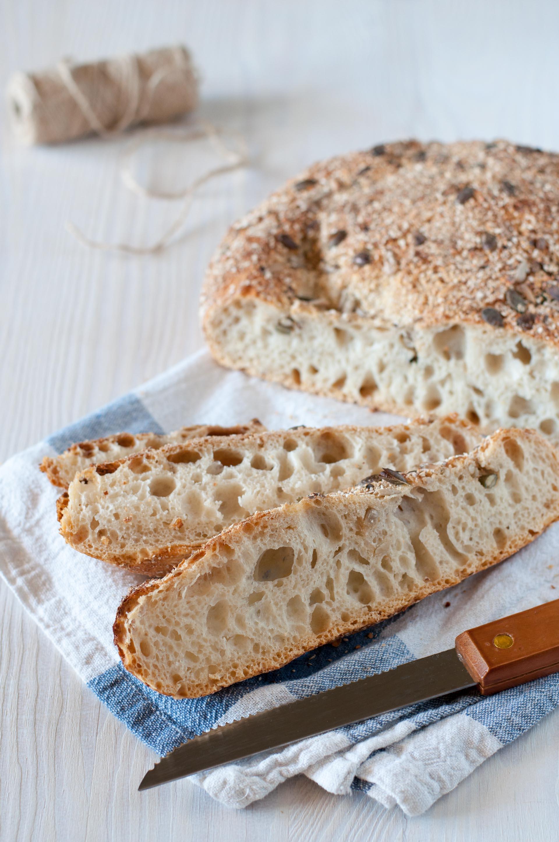 Pane facile a lunga lievitazione