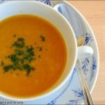 Liberiamo una ricetta: Vellutata di zucca, ceci e porri al curry