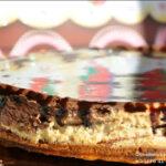 Cheesecake al cioccolato e burro di arachidi