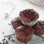 Muffin al cioccolato extra soffici