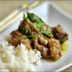 Curry di manzo con basmati