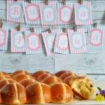 Hot cross buns (panini semidolci pasquali)