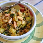Quinoa con zucchine e cipolle