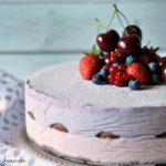 Cheesecake semifreddo ai frutti rossi – No-bake berry cheesecake
