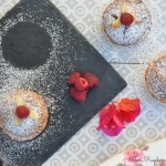 Mini raspberry Bakewell tarts