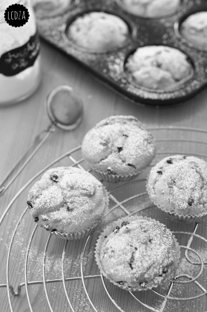 Muffin di ricotta con gocce di cioccolato 4 waterm