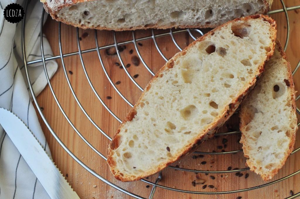 Pane senza impasto 5 waterm
