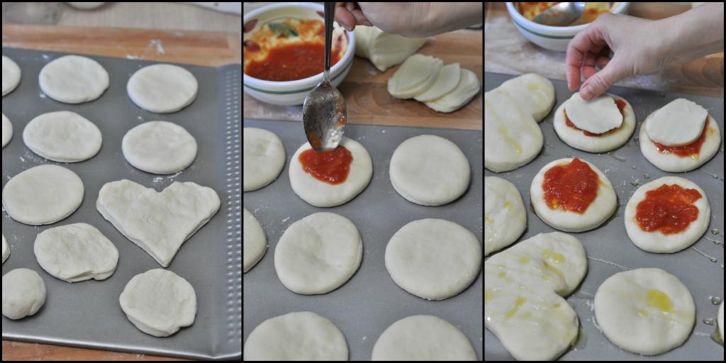 Pizzette passo passo 2