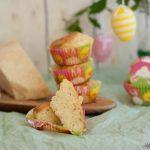 Muffin al parmigiano e basilico