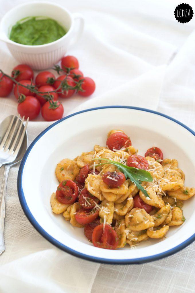 Orecchiette pomodorini confit e pesto di rucola 1 waterm