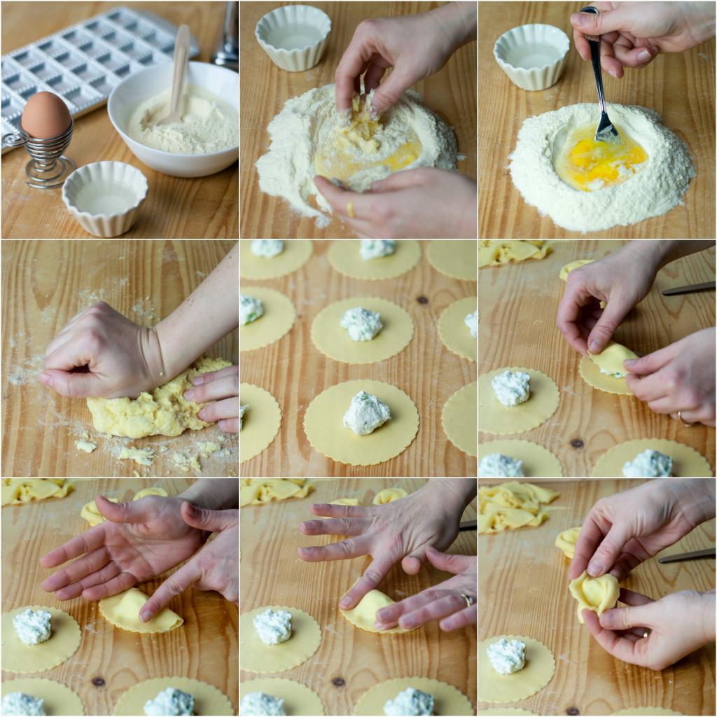 Come fare i tortelloni passo passo
