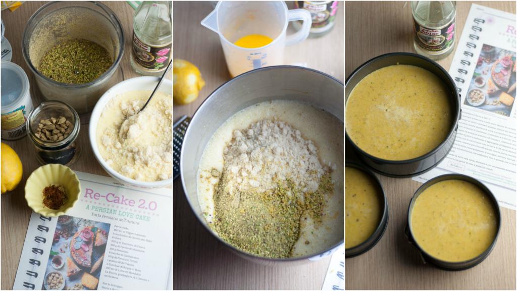 Come preparare la torta persiana dell'amore