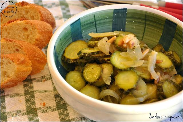 Zucchine-in-agrodolce