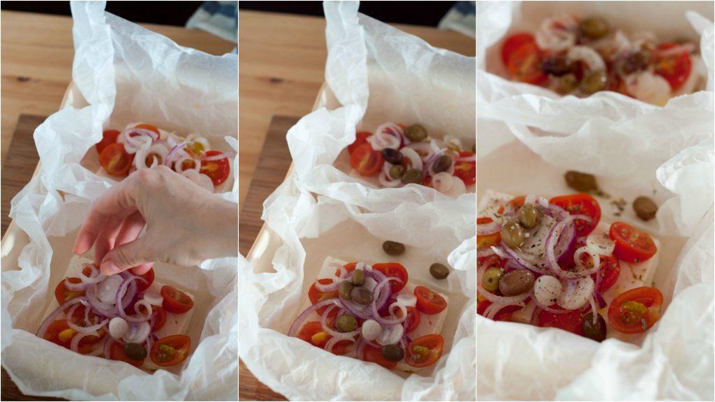 Feta-al-forno-con-pomodorini