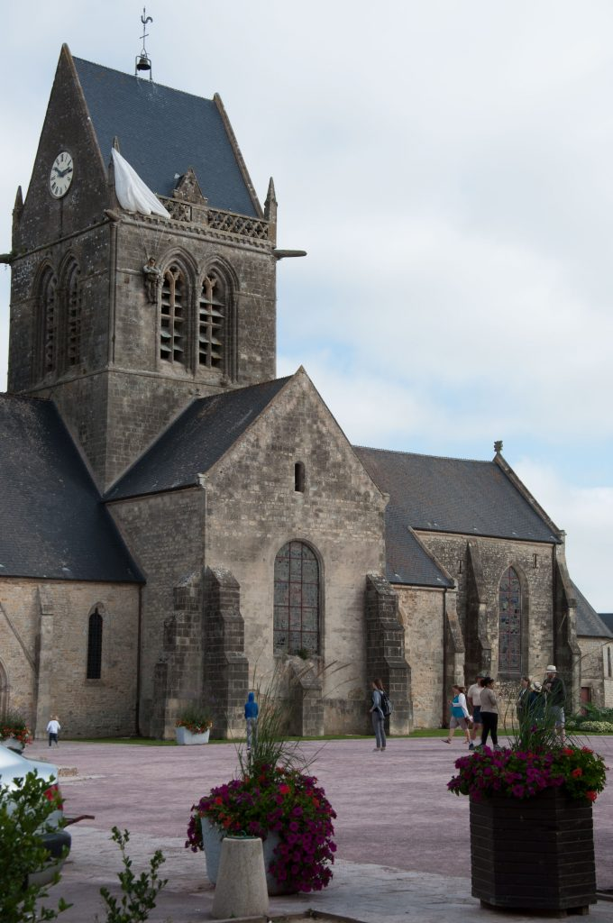 Sainte-Mer-Eglise-paracadutista
