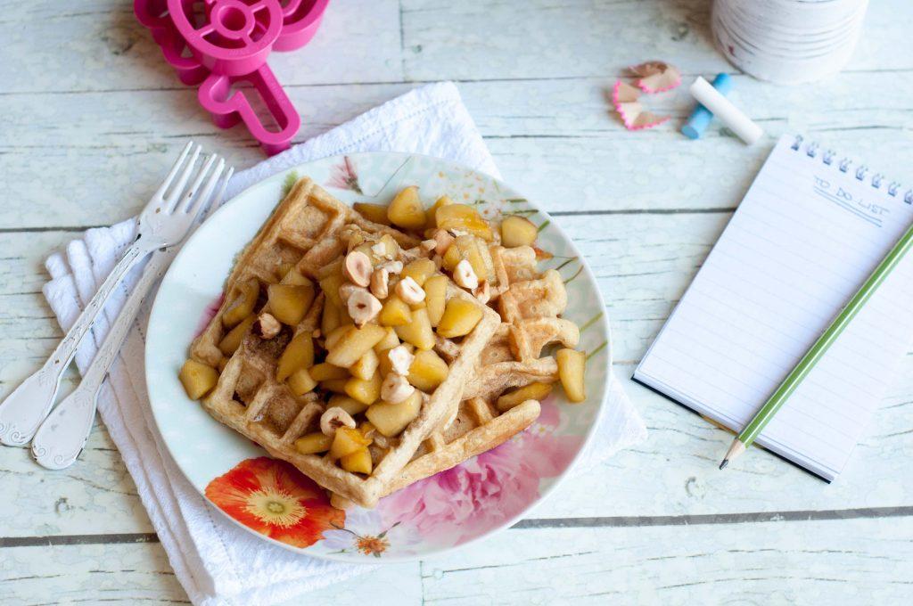 Waffle-allo-yogurt-e-mele-0297