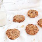 Preparato per cookies con arachidi e fiocchi d'avena