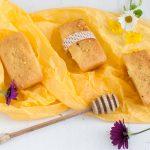 Mini plumcake al miele e polline