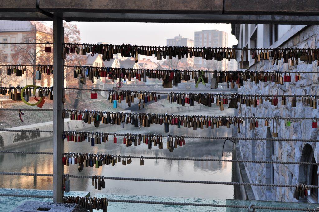 Lubiana-ponte-lucchetti