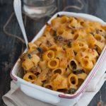 pasta-zucca-funghi-e-speck
