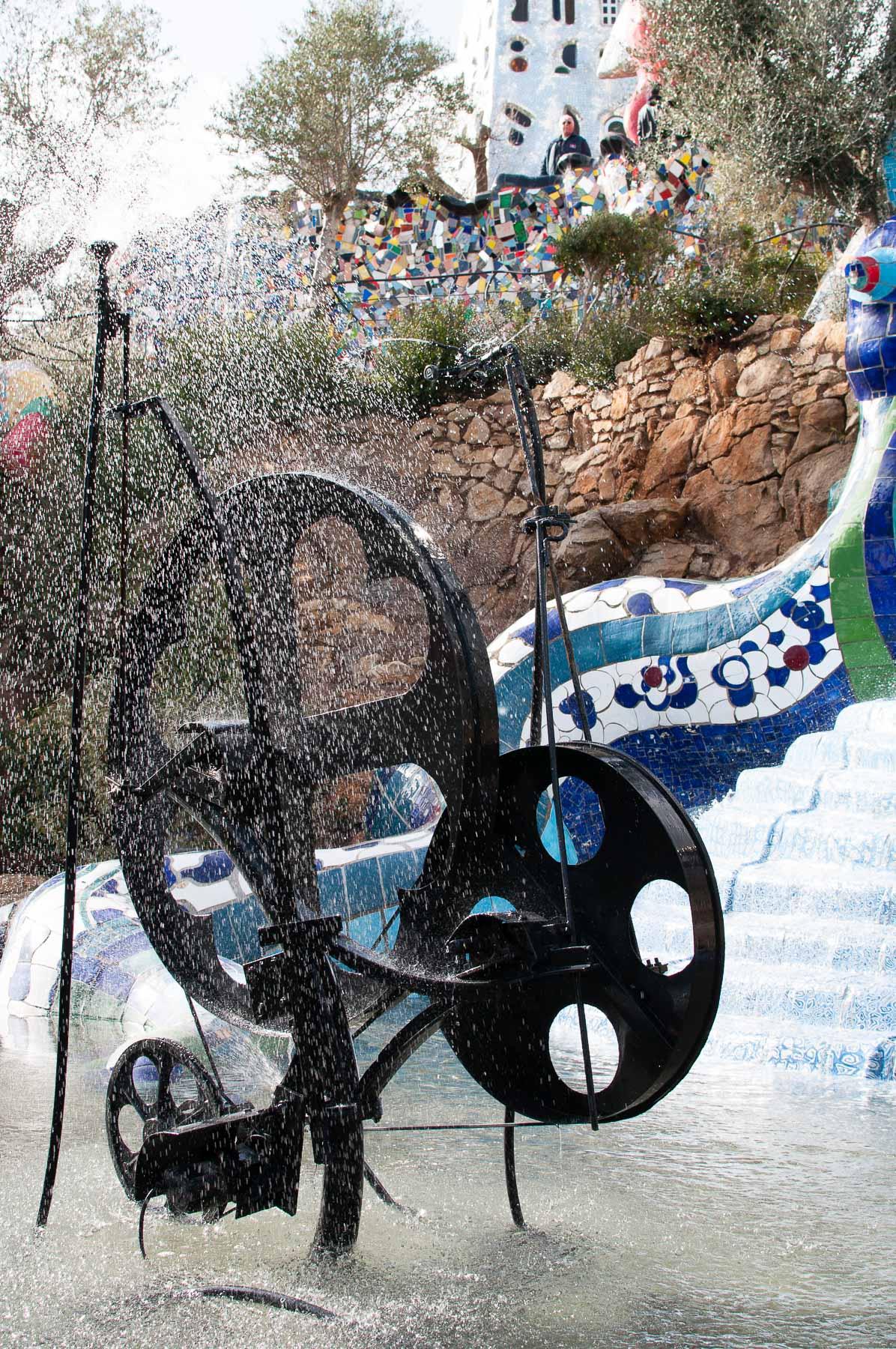 Giardino dei tarocchi giochi acqua