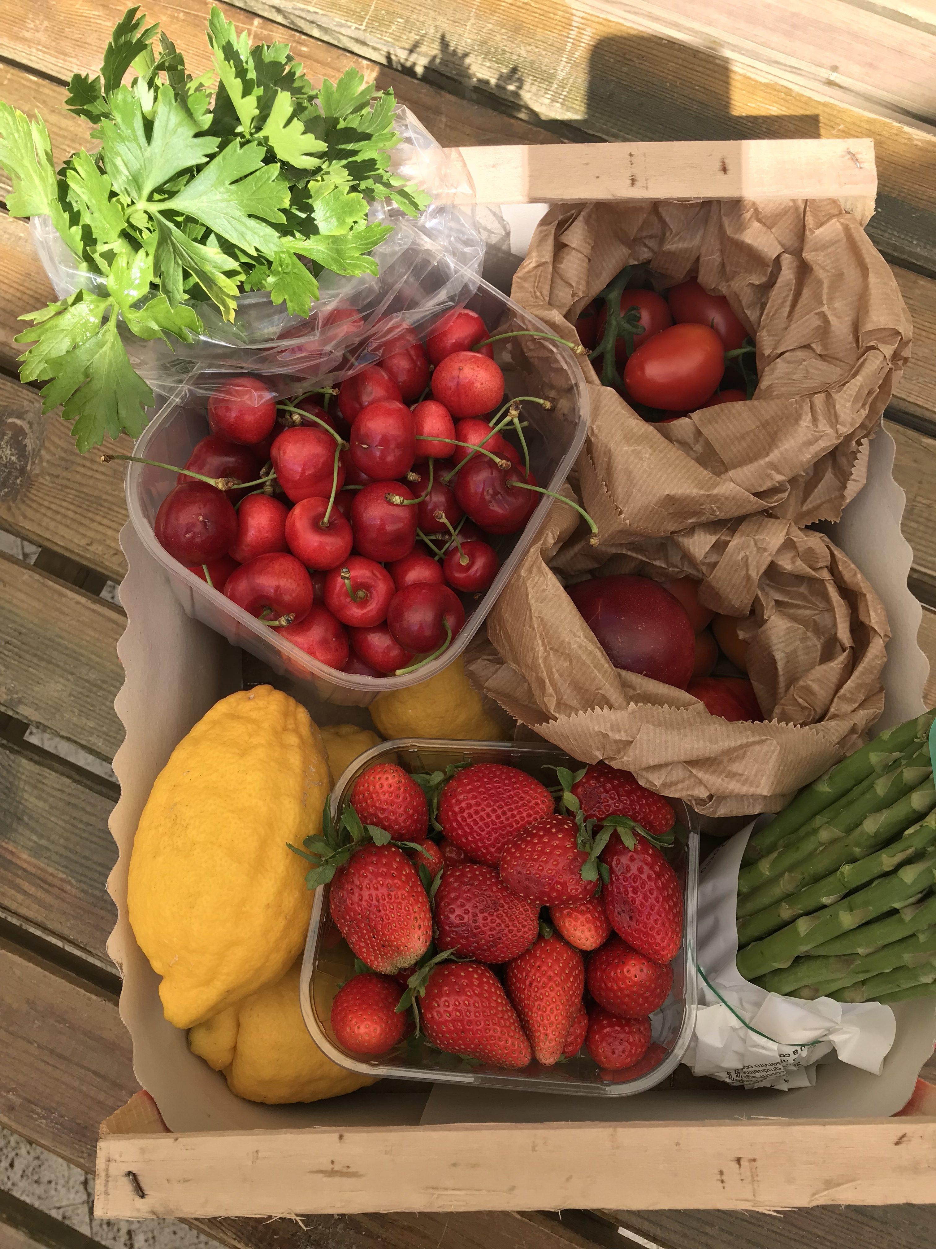 Cassetta frutta e verdura