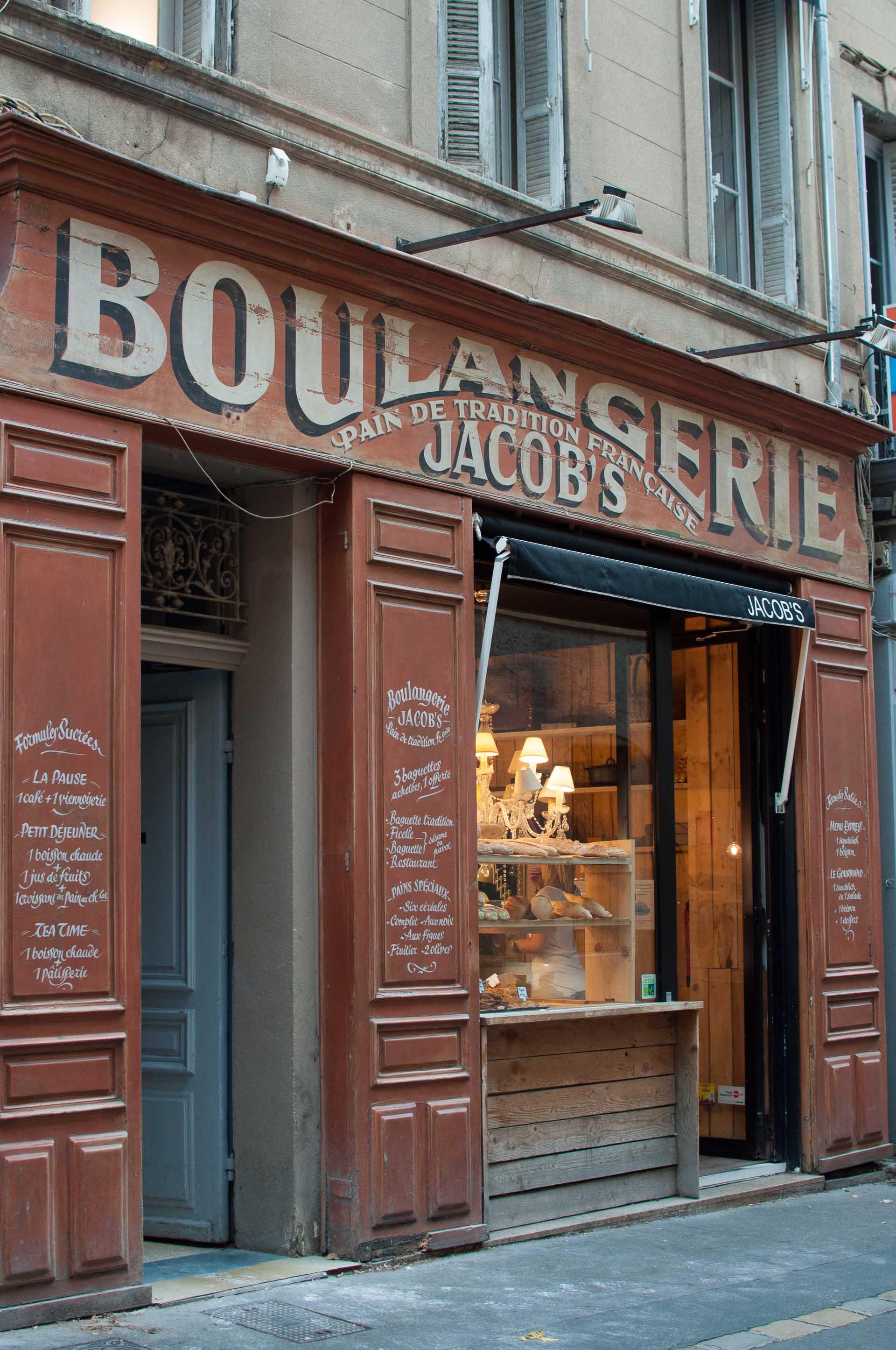 Boulangerie Aix en Provence