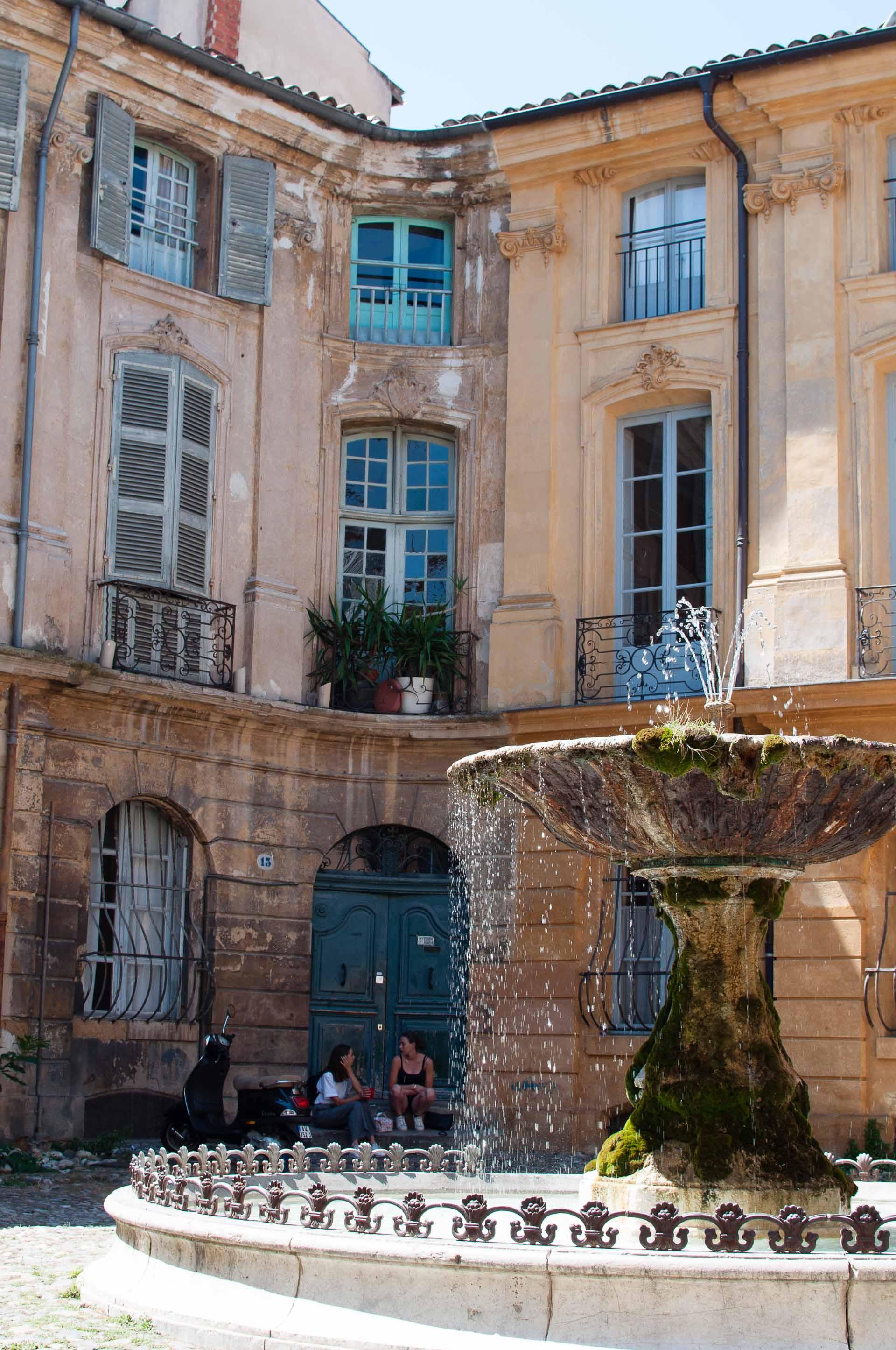 Fontane di Aix en Provence