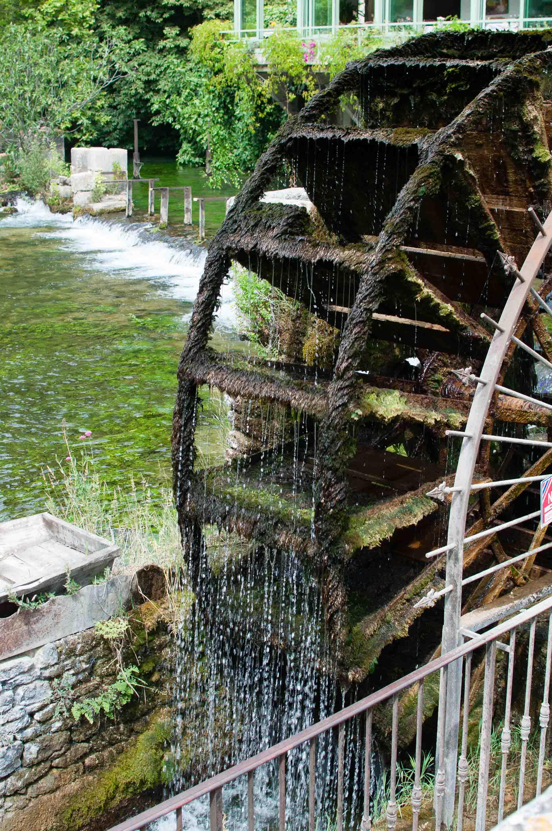 Fontaine de Vaucluse mulino