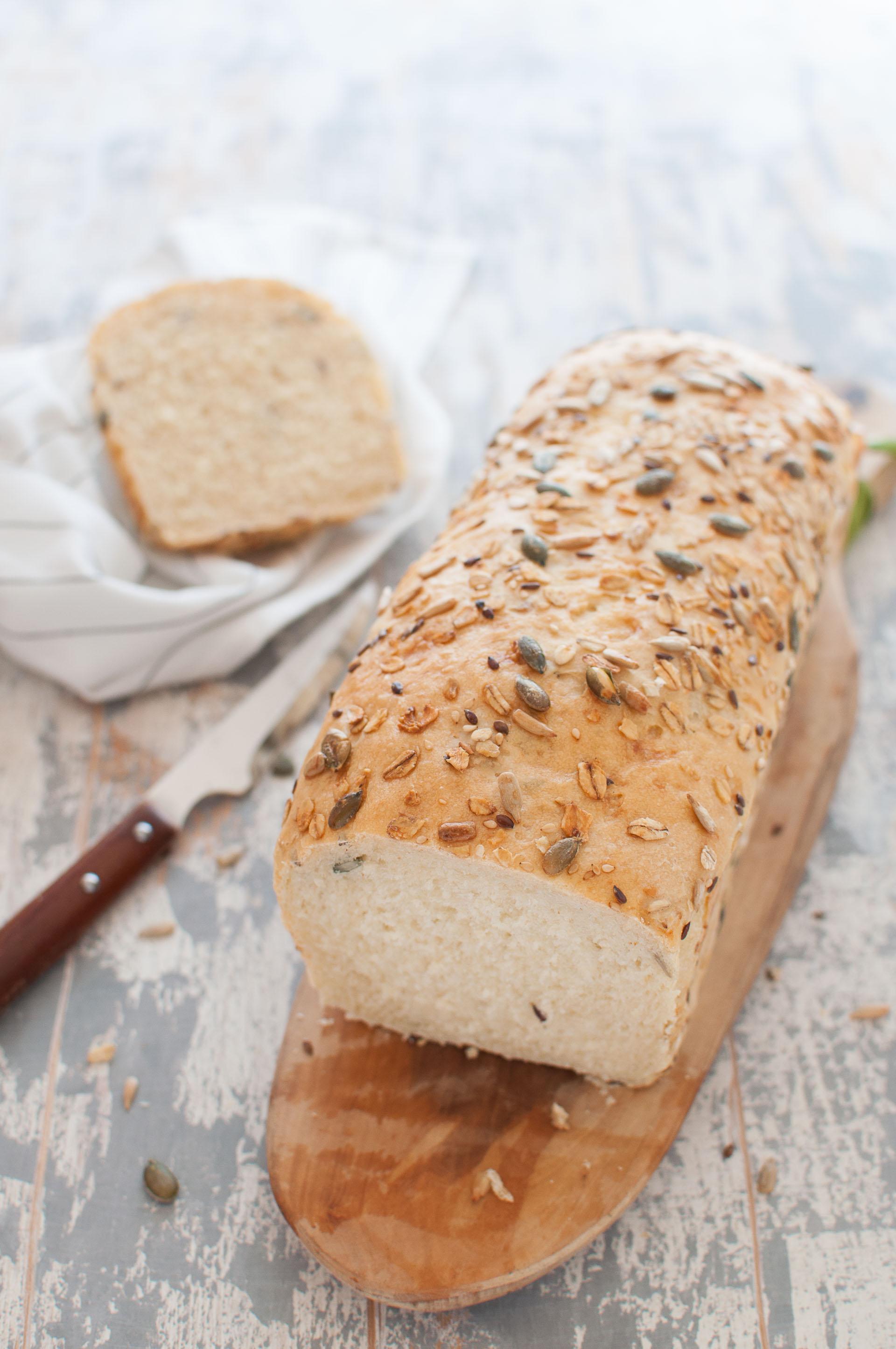 Pane per tramezzini fatto in casa