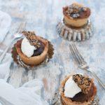 Little baked chocolate tart Ottolenghi