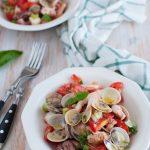 Panzanella con pesce