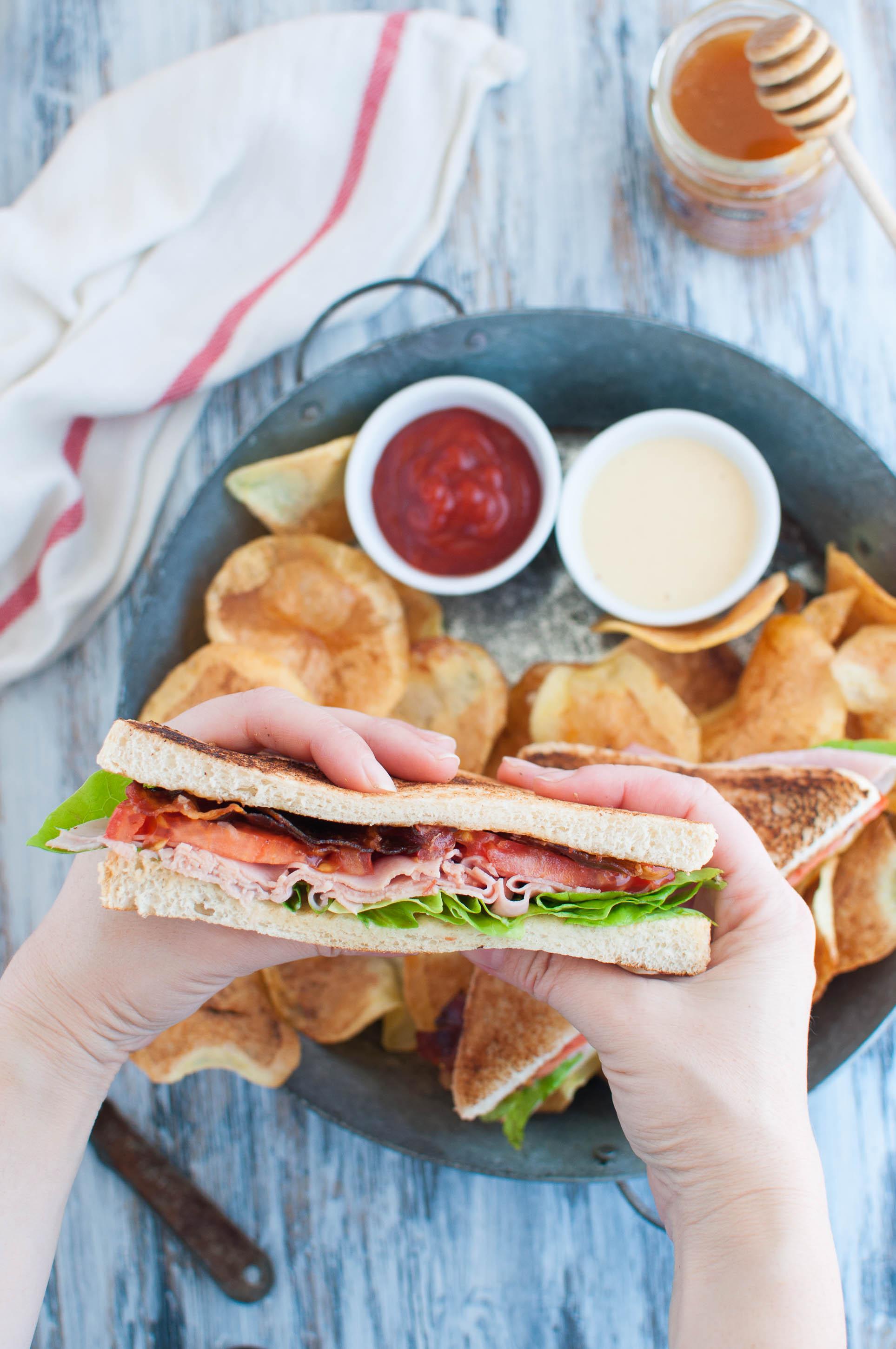 Club sandwich ricetta facile