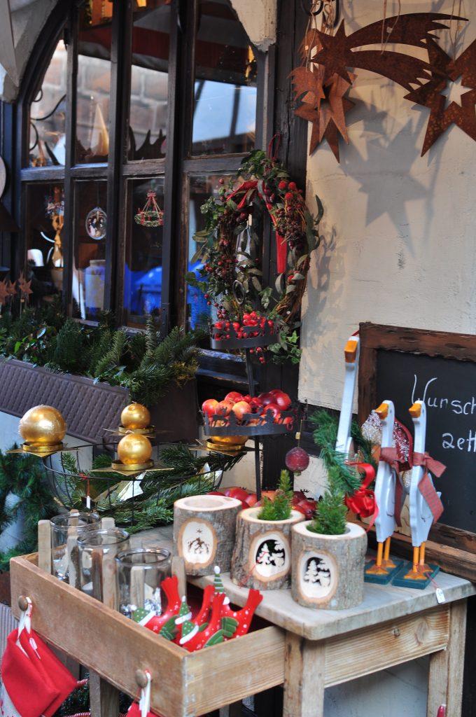Decorazioni natalizie mercatini