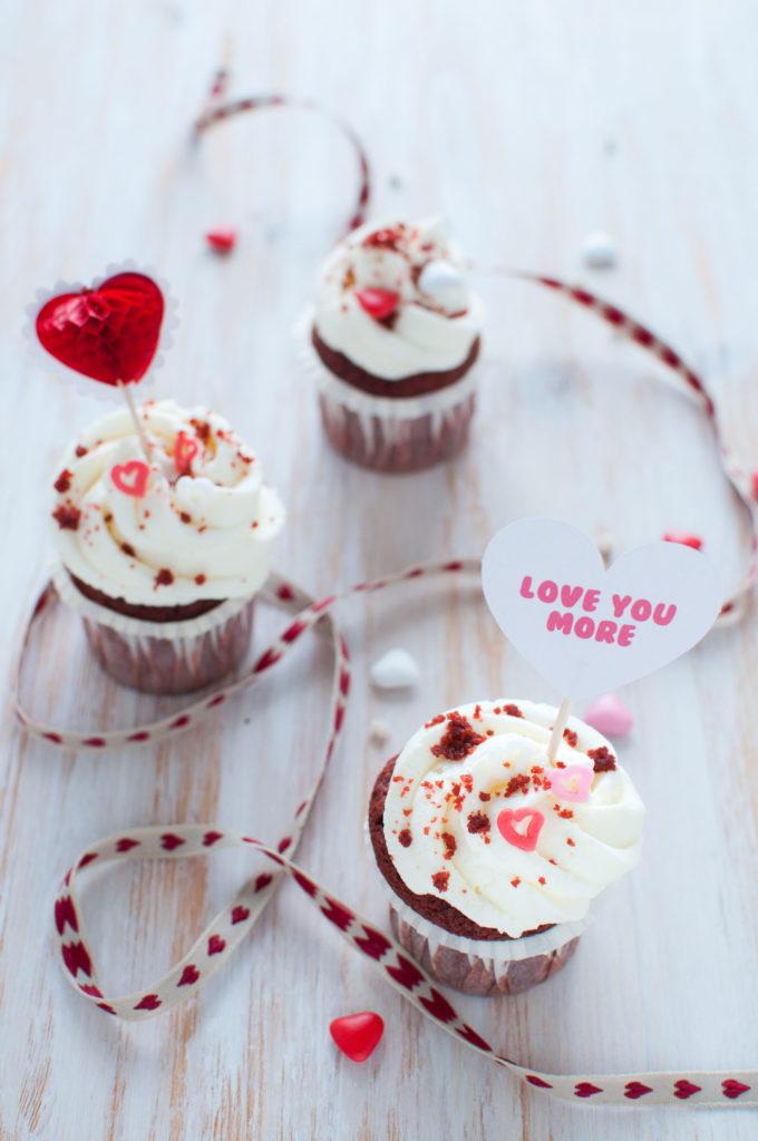 Cupcake red velvet ricetta americana