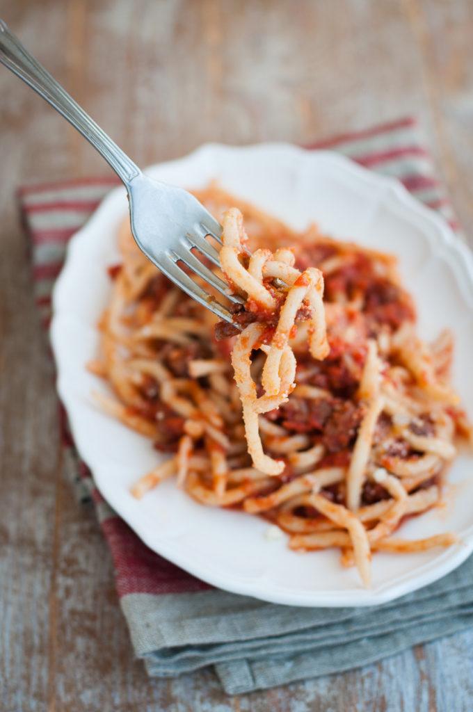 Lombrichelli pasta viterbese