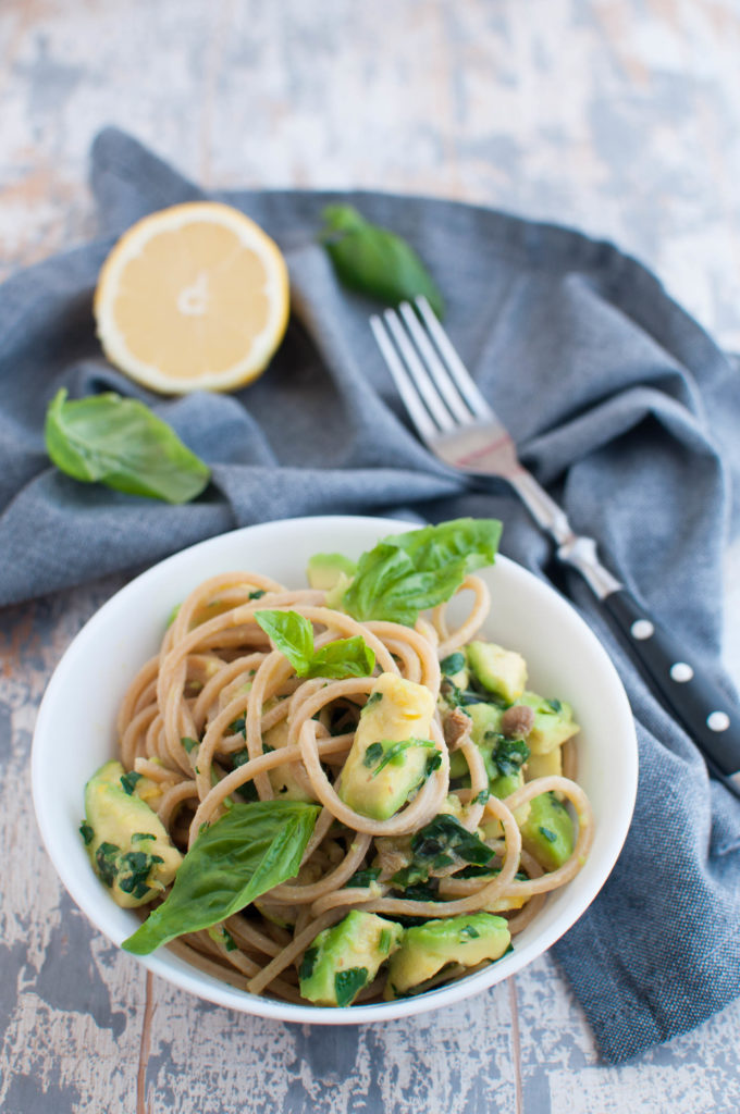 Avocado spaghetti recipe Anna Jones