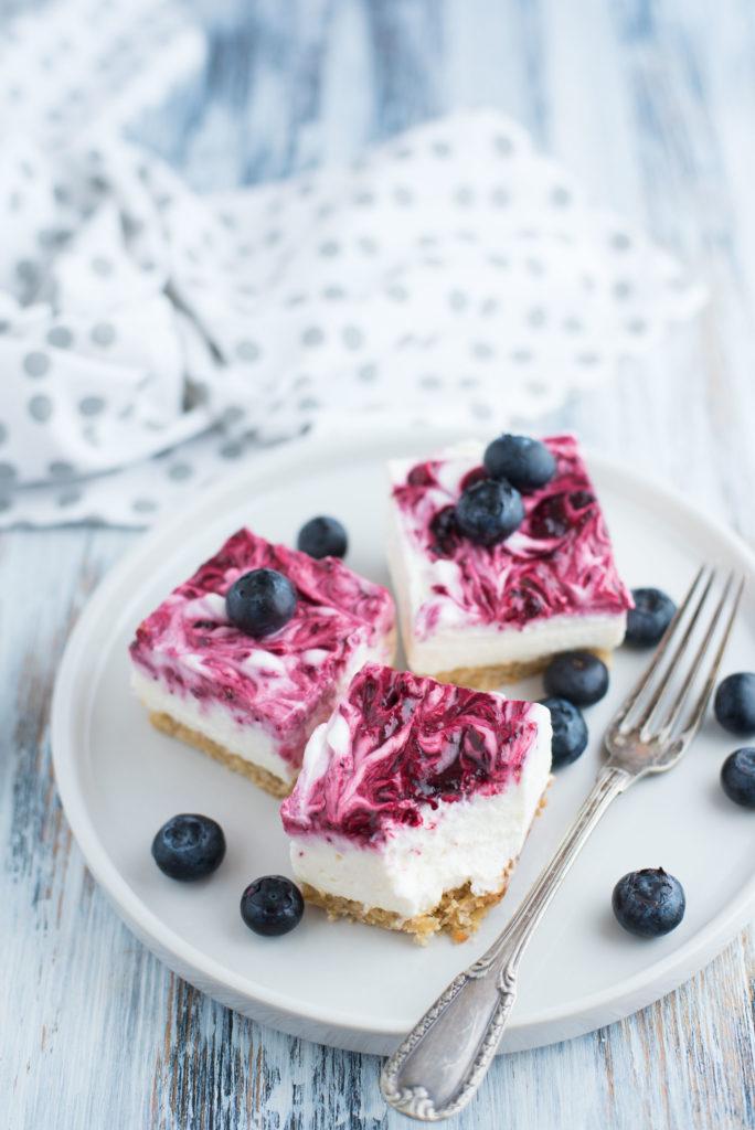 Cheesecake facile e veloce ai frutti rossi