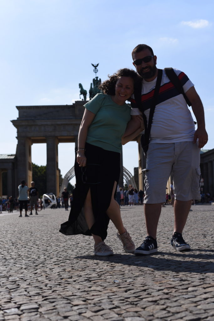 Porta di Brandeburgo Selfie