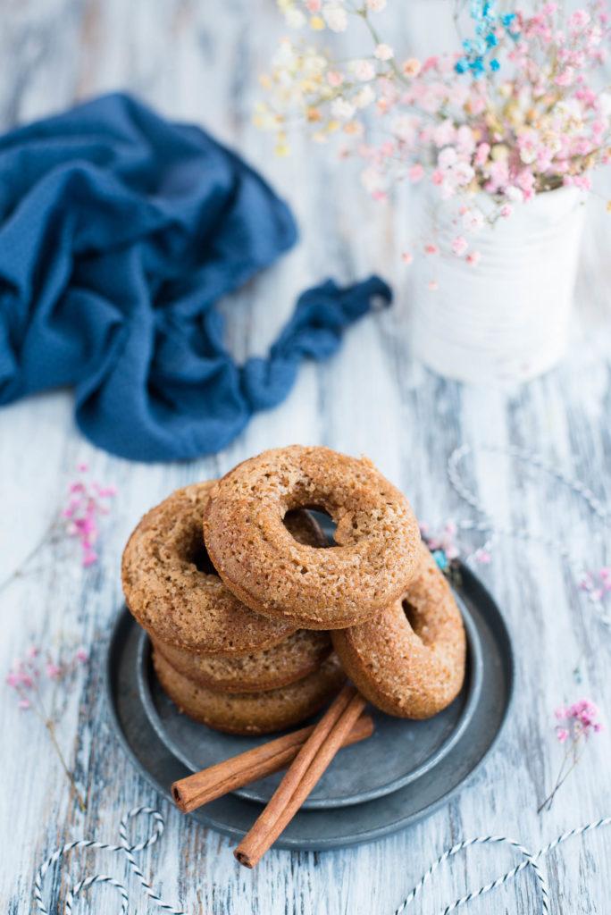 Donut alla zucca al forno