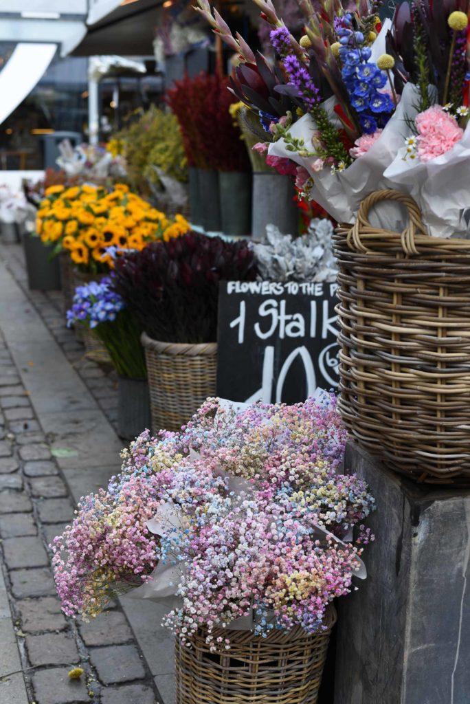 Fiori mercato Copenaghen