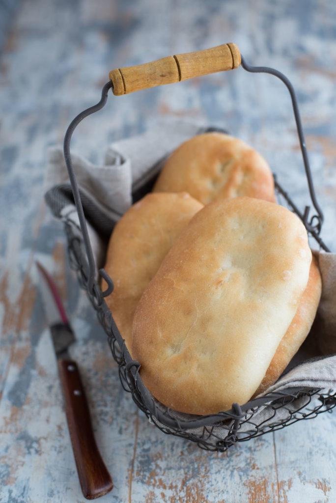 Schiacciatine di pane