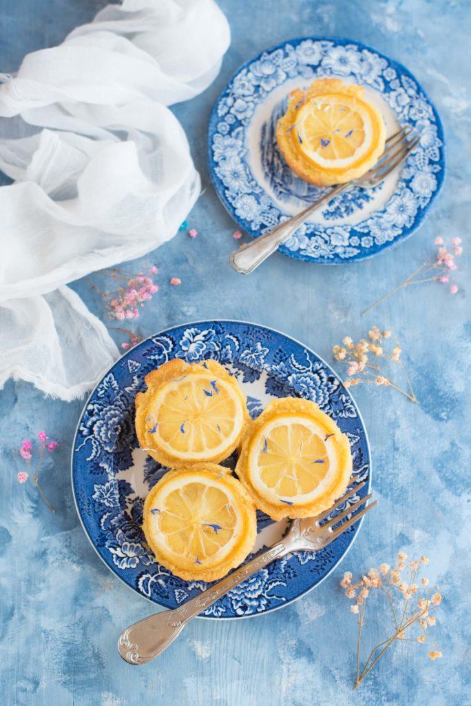 Tortine di semolino al limone Ottolenghi
