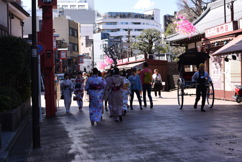 Japanese girls Asakusa