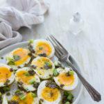 Uova con za'atar e limone
