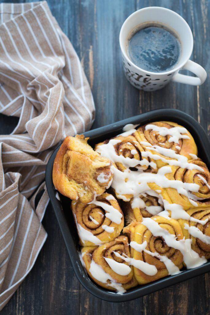 Cinnamon roll alla zucca