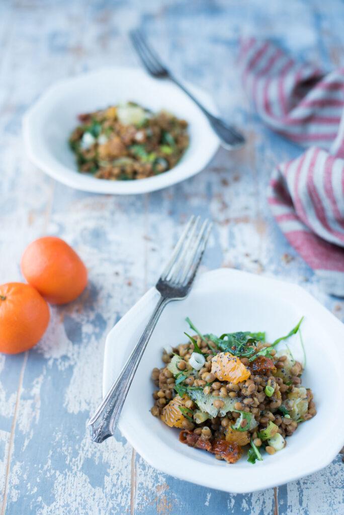 Insalata di lenticchie capodanno